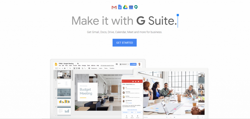 tools for startups gsuite