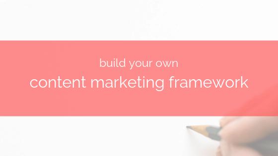 creating content marketing framework in taskeo