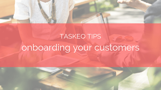 taskeo onboarding your clients