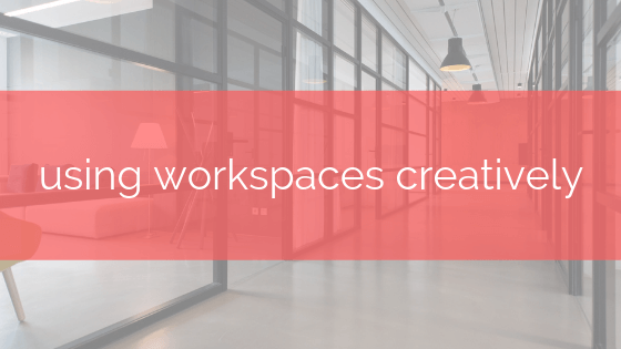 using workspaces in taskeo post banner