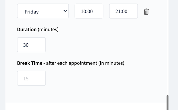 Features to Streamline Appointment Scheduling